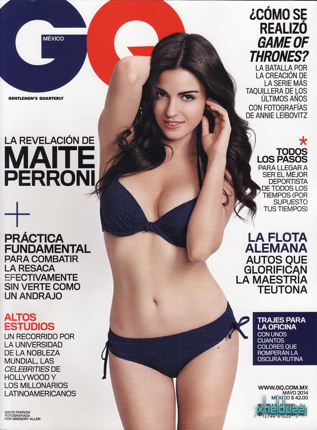 Maite Perroni - GQ Magazine (Mexico) May 2014 Issue