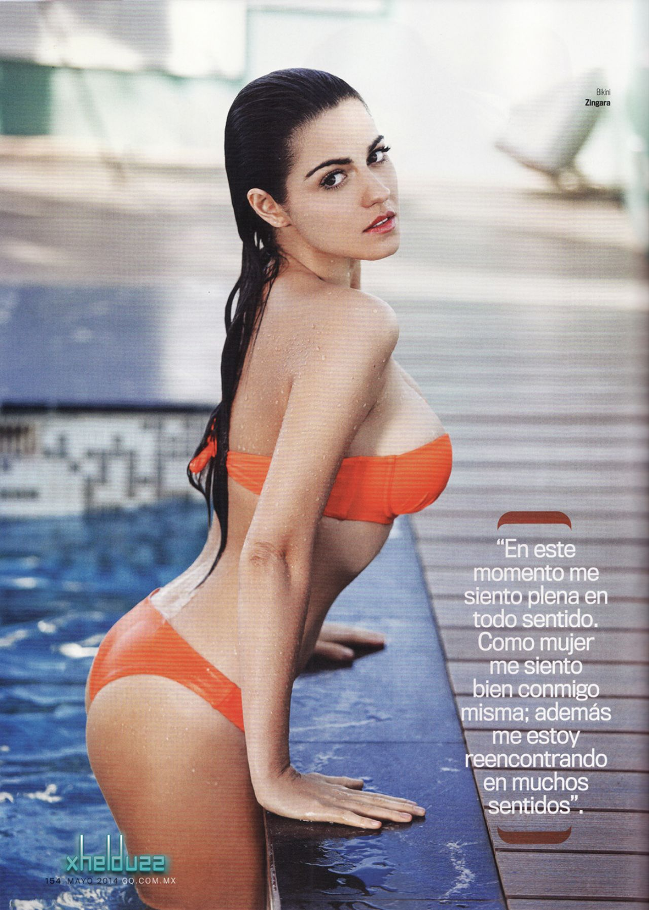 Maite Perroni – GQ Magazine (Mexico) May 2014 Issue