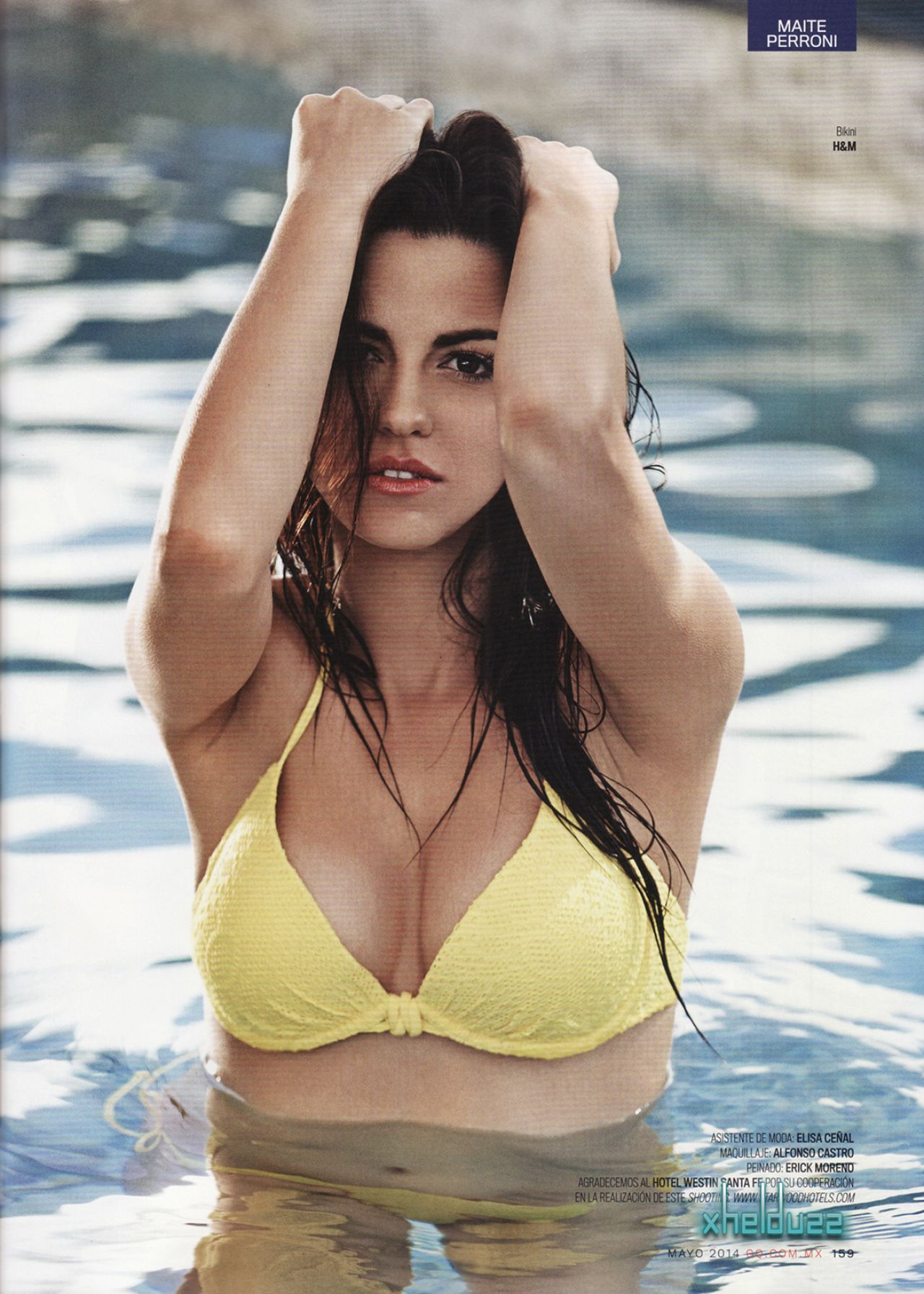 Maite Perroni Gq Magazine Meico May Issue Hires