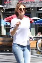Maria Menounos in Jeans - Out in Los Angeles - April 2014