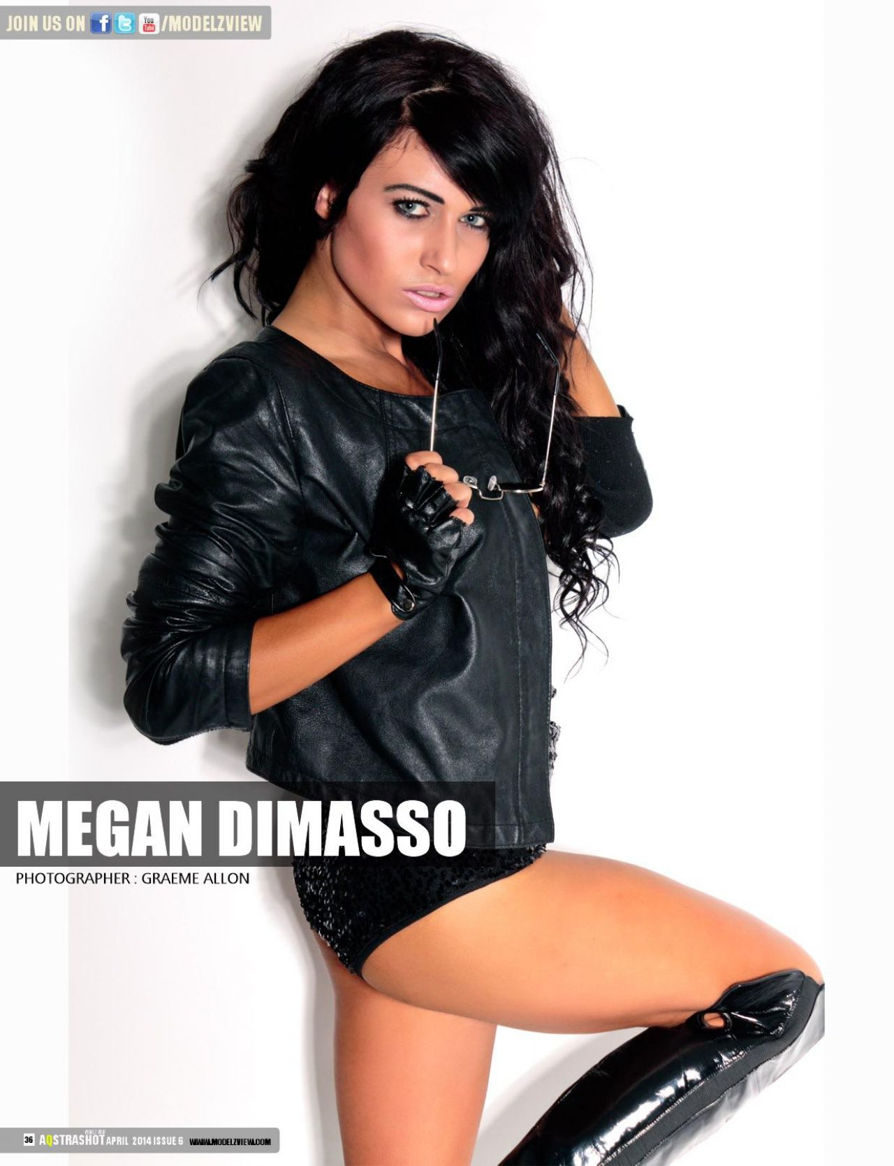 Megan Dimasso – Aqstrashot Magazine April 2014 Issue