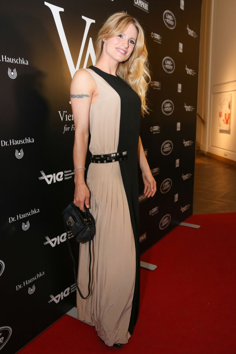Michelle Hunziker at 2014 Vienna Awards