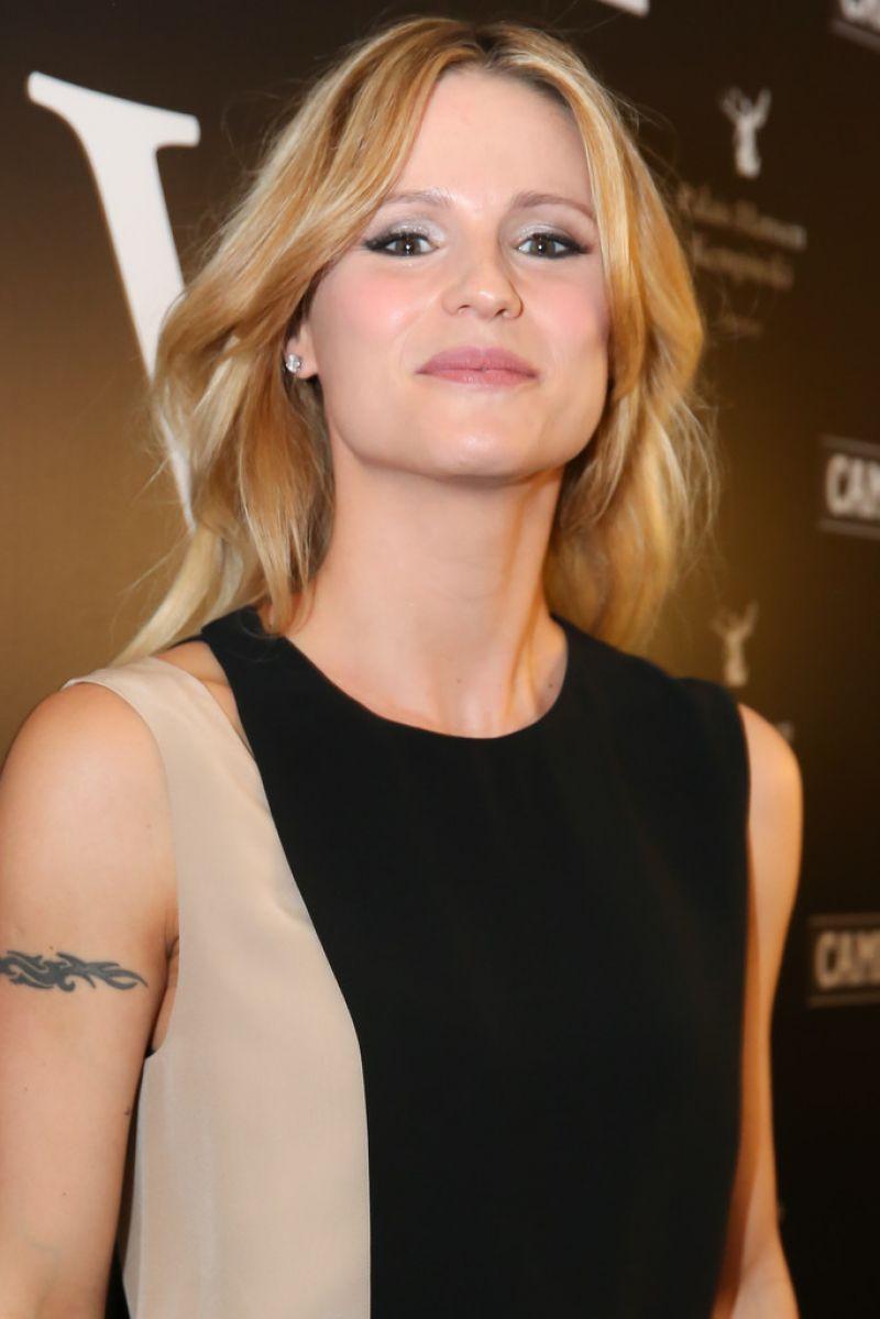 Michelle Hunziker at 2014 Vienna Awards • CelebMafia