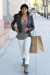 Michelle Rodriguez - Shopping in Los Angeles - April 2014