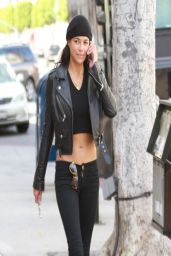 Michelle Rodriguez Street Style - Shopping in LA – April 2014
