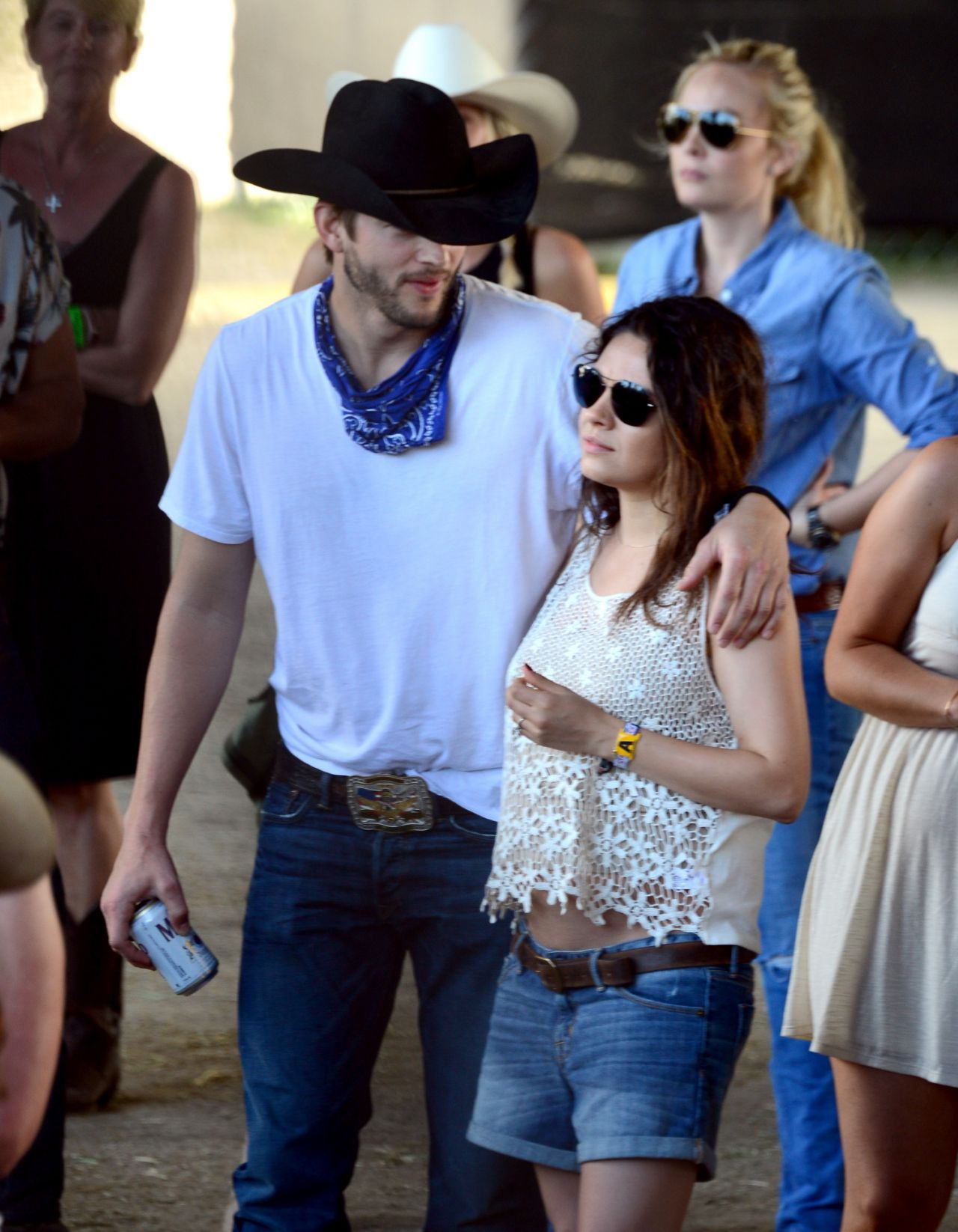 Mila Kunis & Ashton Kutcher - 2014 Stagecoach California
