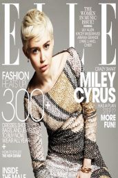 Miley Cyrus - ELLE Magazine May 2014 Cover