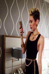 Miley Cyrus – Social Media Photos – March 2014 Collection