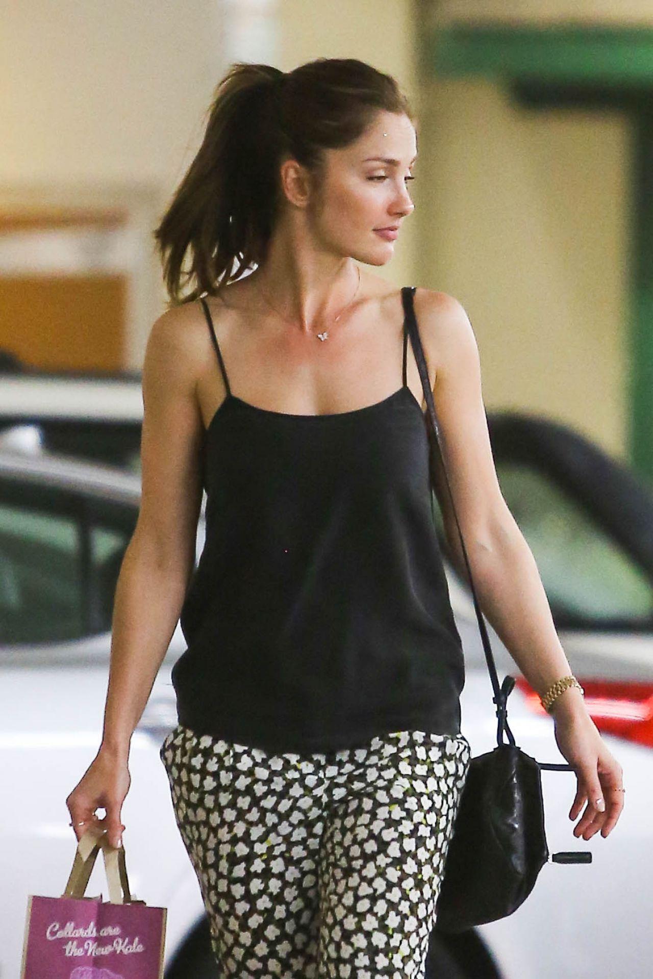 Minka Kelly Shopping In Beverly Hills April 2014