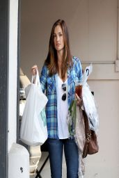 Minka Kelly Street Style - Out in Studio City - April 2014