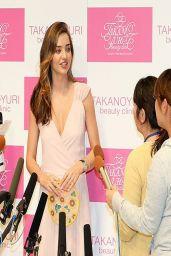 Miranda Kerr at Yuri Takano Promotional event in Tokyo - April 2014