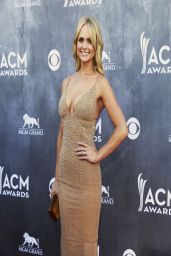 Miranda Lambert Wearing Randi Rahm Gown - Academy of Country Music Awards - April 6, 2014