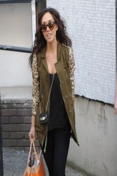 Myleene Klass Casual Style - Leaves ITV studios in London - April 2014