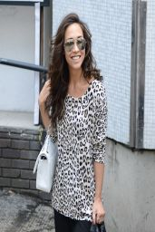 Myleene Klass - Leaving the ITV Studios - April 2014