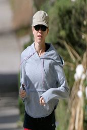 Naomi Watts Goes for a Morning Run - April 2014