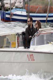 Natalie Portman and Benjamin Millepied in Italy - Venice, April 2014