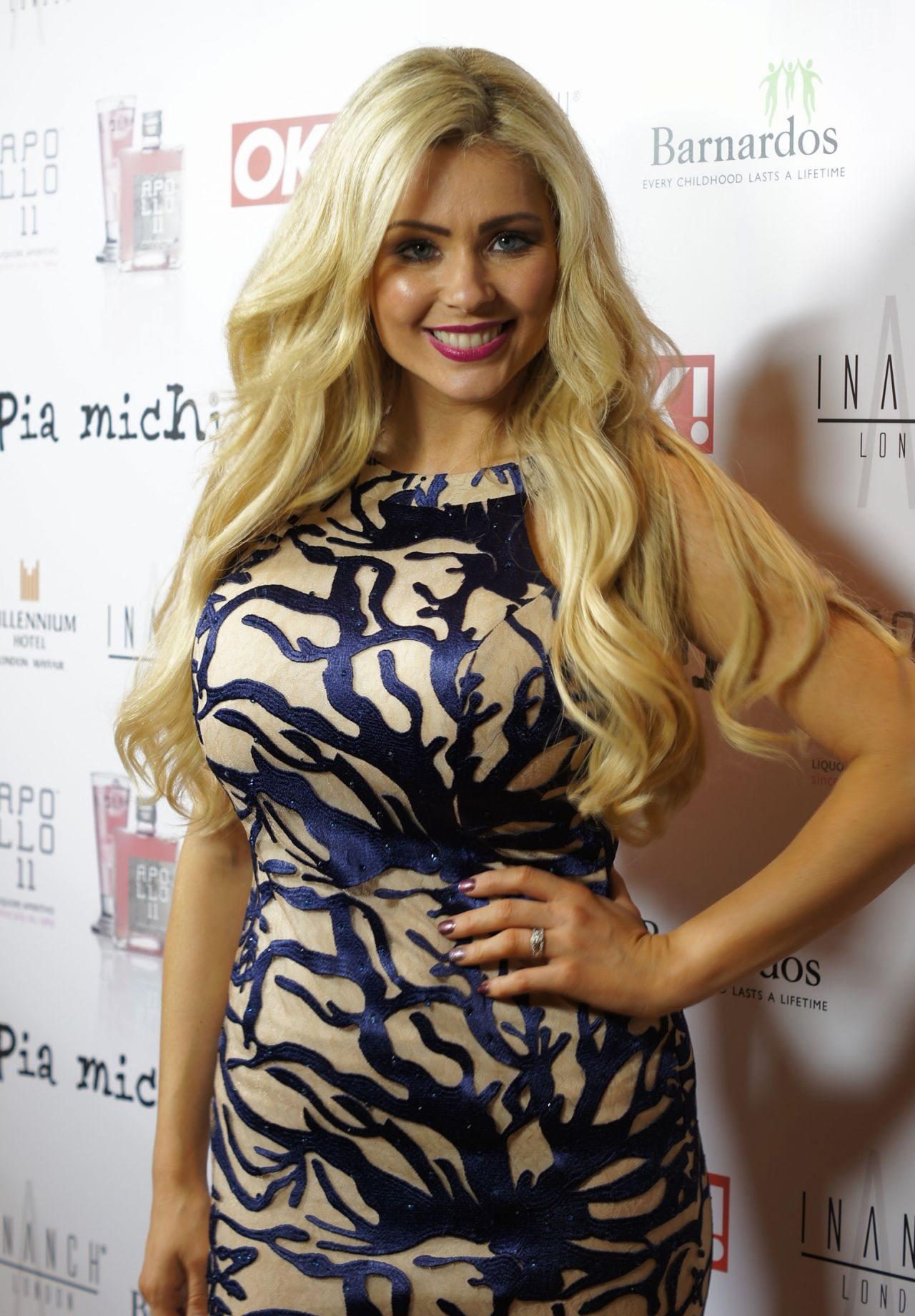 Nicola McLean - Pia Michi Catwalk Show in London - March 2014