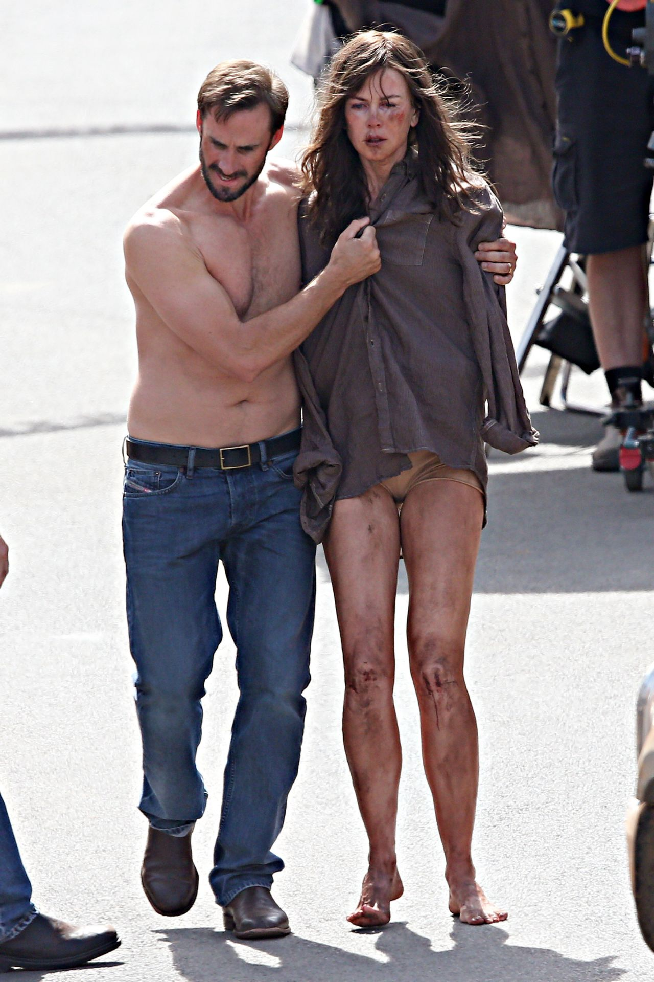 Nicole Kidman On The Filmset Of Her New Movie Strangerland - April 2014-2917