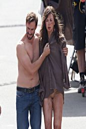 Nicole Kidman On The Filmset of Her New Movie (Strangerland?) - April 2014