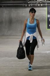 Nicole Scherzinger - Leaving the Gym in Los Angeles - April 2014