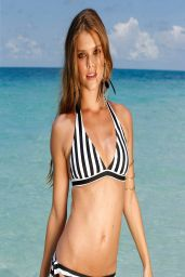 Nina Agdal Bikini Photoshoot for Bonprix Swimwear Spring 2014