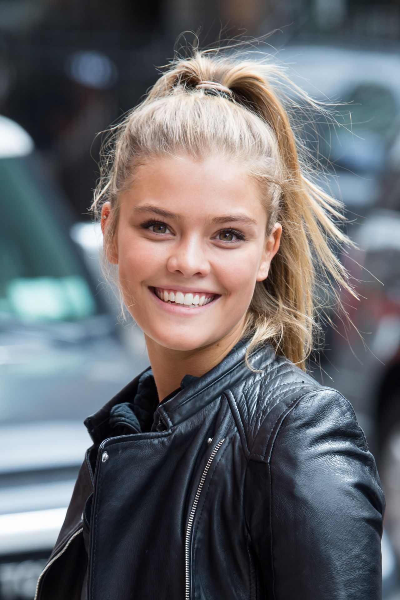 Nina Agdal In New York City On The Streets Of Manhattan