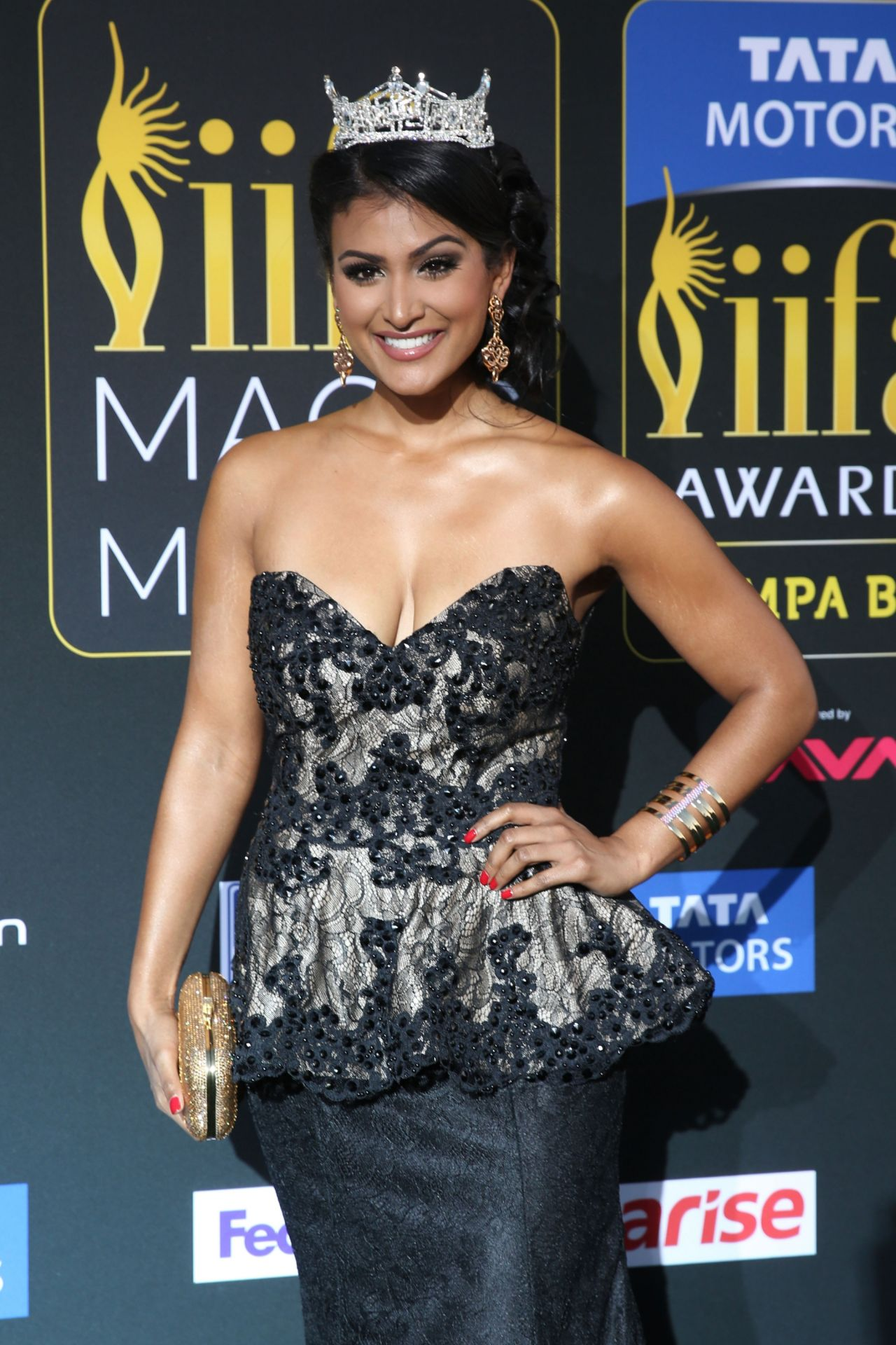 Nina Davuluri - IIFA Magic Of The Movies - April 2014