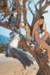 Nina Senicar in Bikini - Testimonial B Underwear Summer 2014