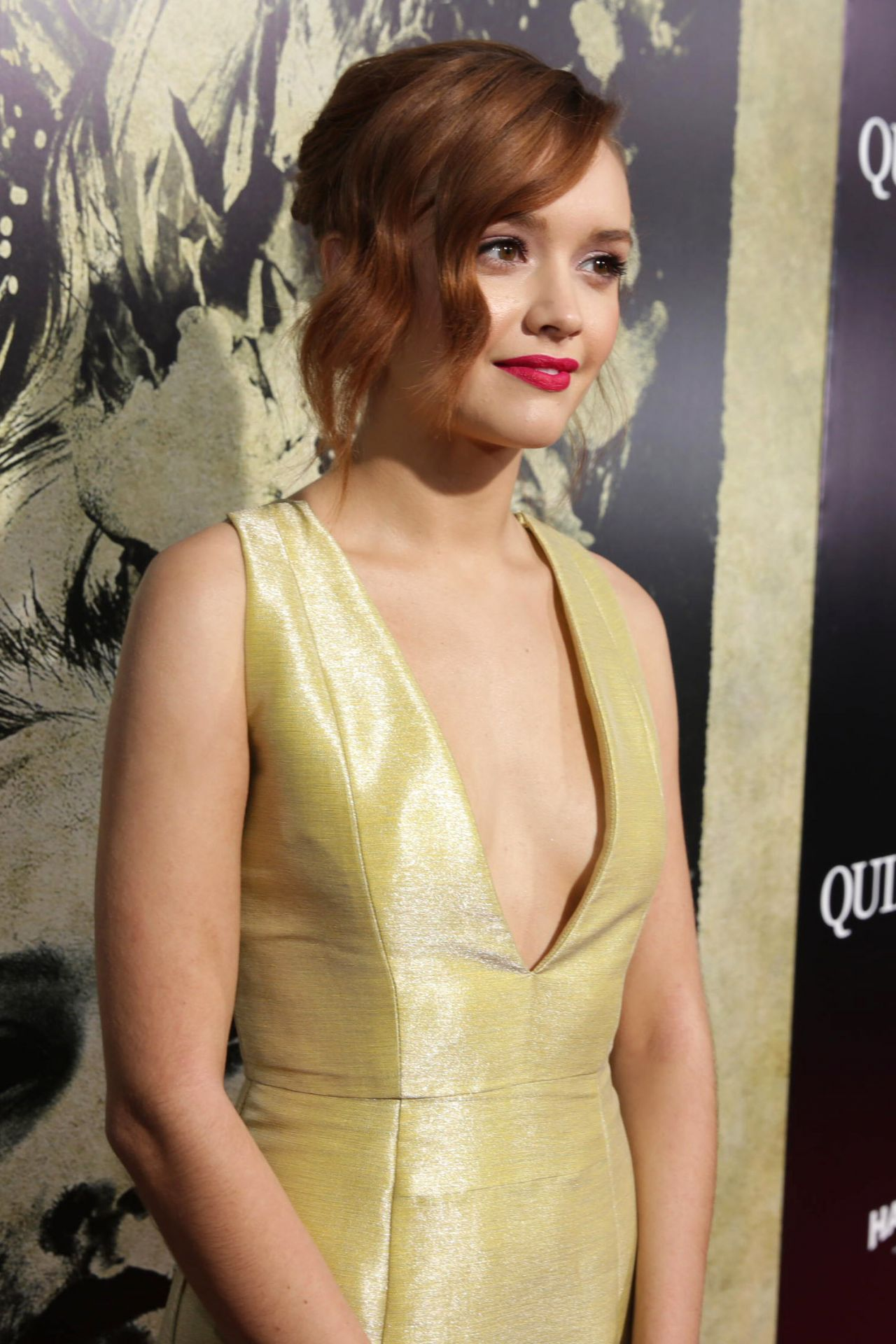 Olivia Cooke - 'The Quiet Ones' Premiere in Los Angeles