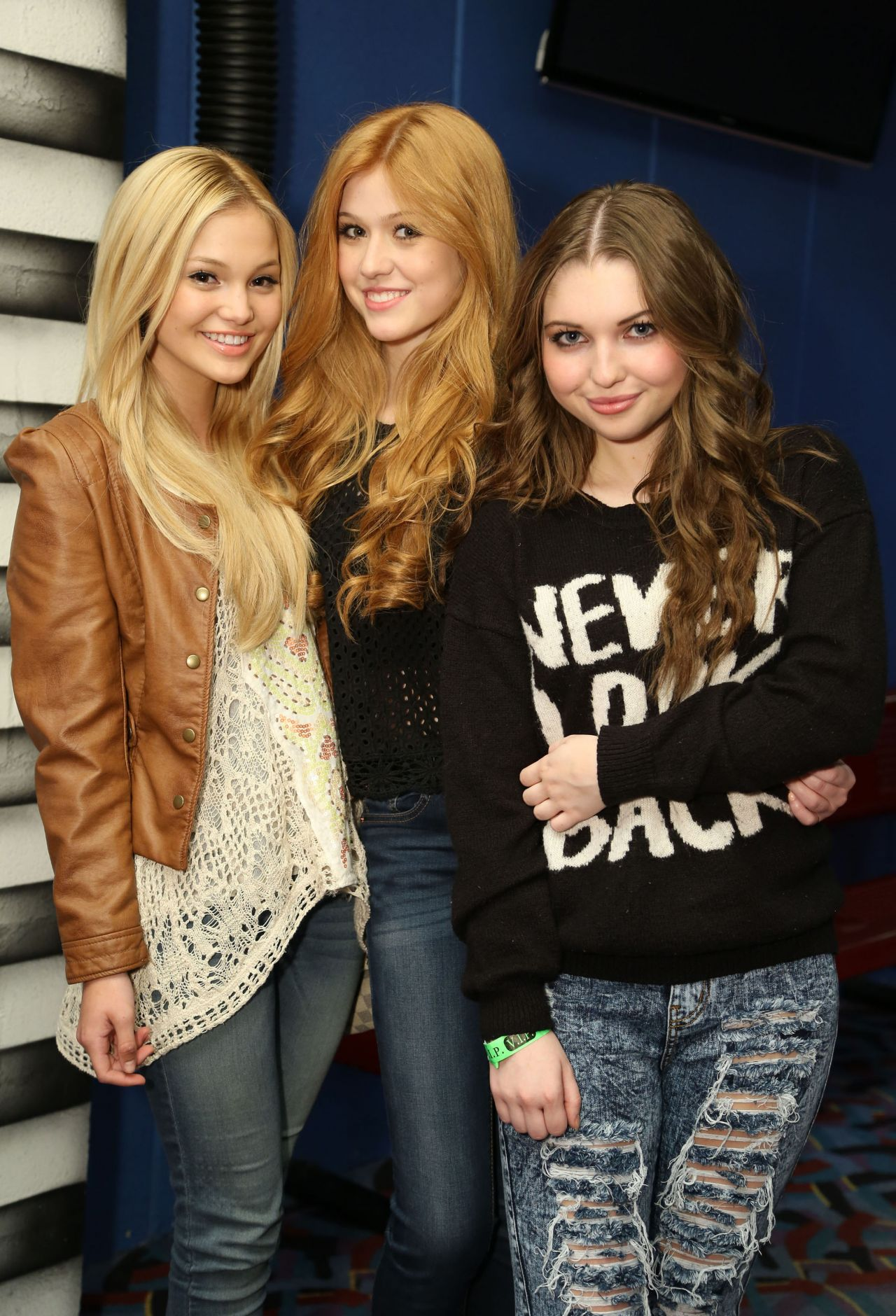 Olivia Holt, Katherine McNamara and Sammi Hanratty - Peyton List