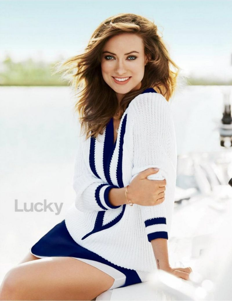 Olivia Wilde - Lucky Magazine May 2014 Issue