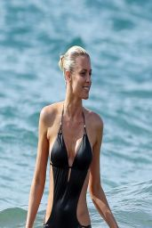Paige Butcher in Swimsuit - Beach in Hawaii - April 2014