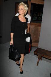 Pamela Anderson - Leaving Crossroads in West Hollywood - April 2014