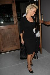 Pamela Anderson - Leaving Crossroads in West Hollywood - April 2014
