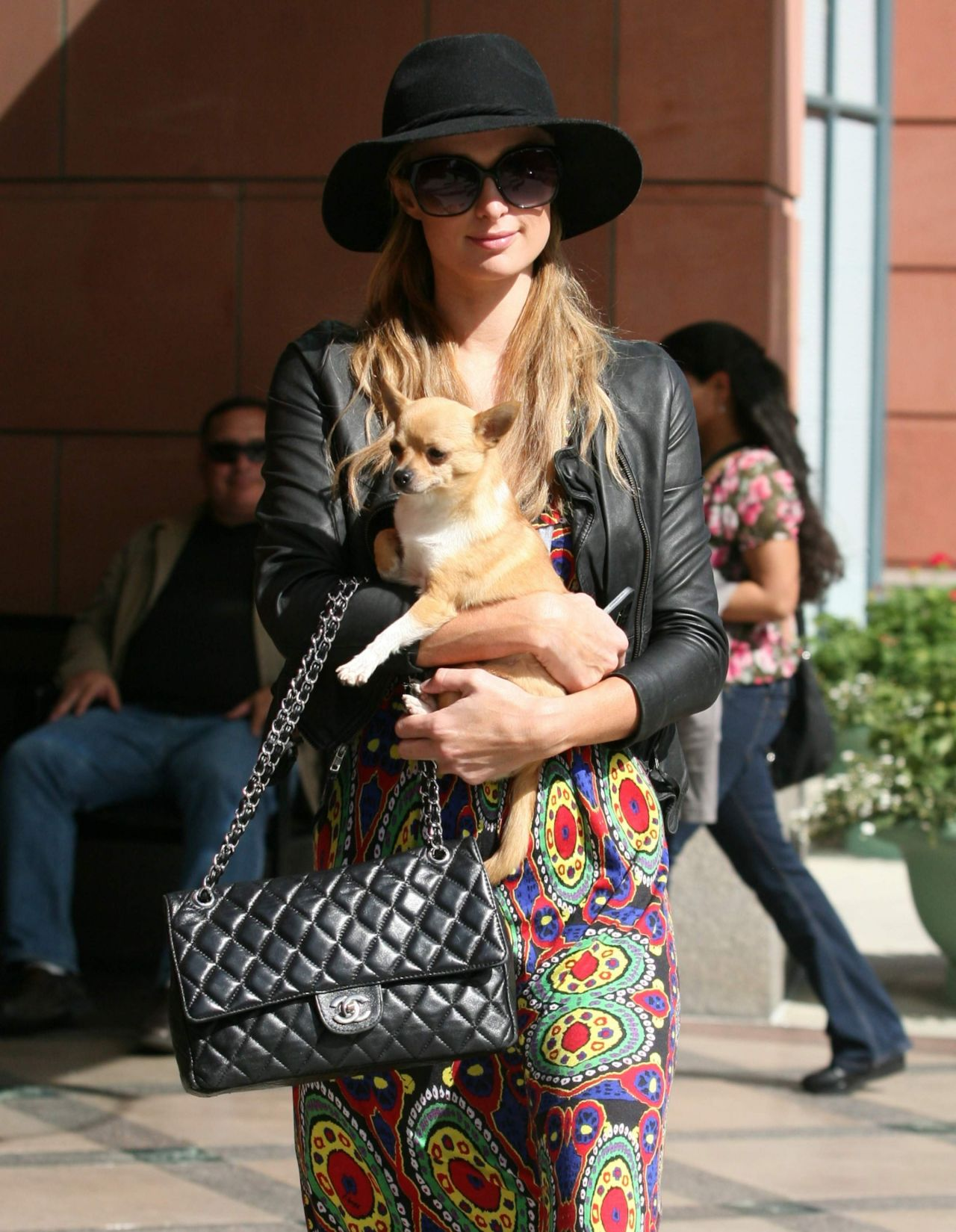 Paris Hilton at Anastasia Salon in Beverly Hills - April 2014