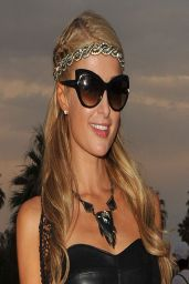 Paris Hilton at Coachella Valley Music & Arts Festival - Weekend 2 (2014)