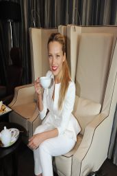Petra Nemcova at Prague International Airport - March 2014