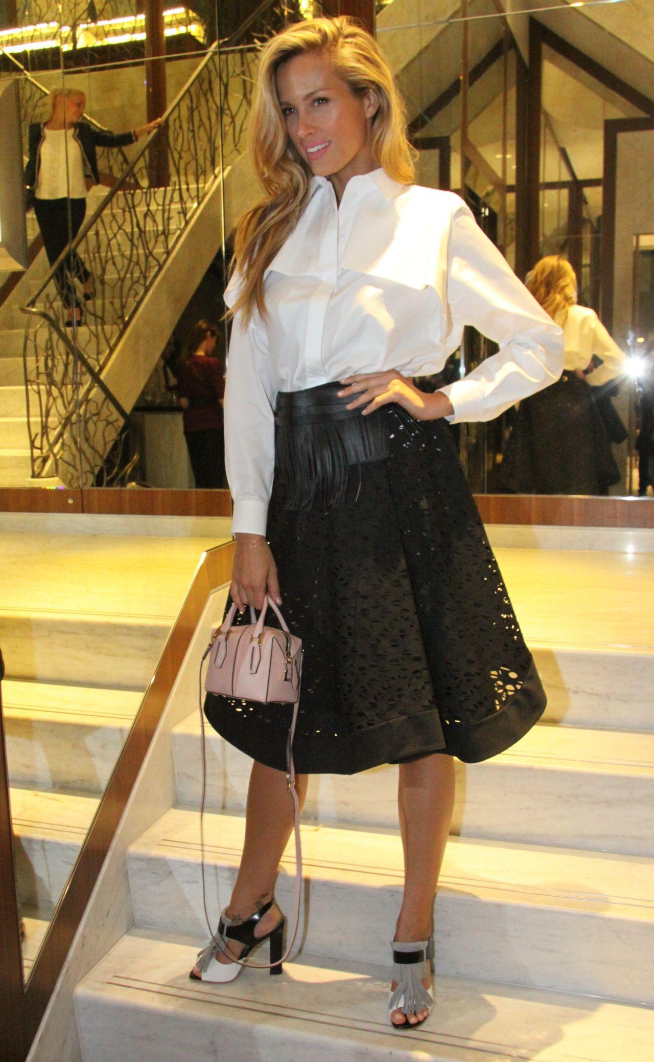 Petra Nemcova - Prague Fashion Night 2014 - March 2014 Fashion Show Dresses 2017