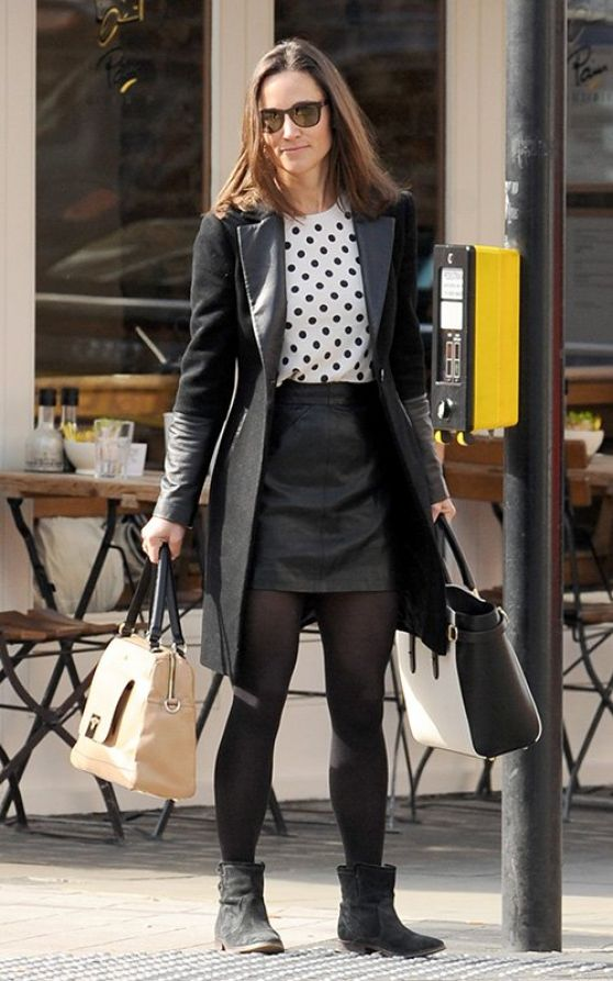 Pippa Middleton - Out in London - April 2014