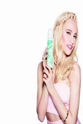 Pixie Lott - Rankin Photoshoot for Batiste Dry Shampoo Ads