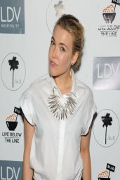 Rachel Platten at Global Poverty Project and LDV Hospitality Special Event in New York City
