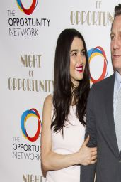 Rachel Weisz wearing Narciso Rodriguez Dress - Night of Opportunity Gala - April 2014