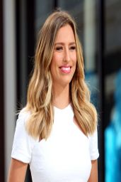 Renee Bargh On The Set of