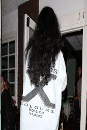 Rihanna Night Out Style - Arrives at Giorgio Baldi Restaurant in Santa Monica - April 2014