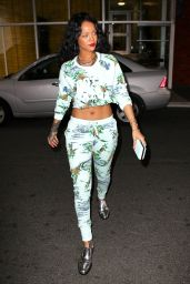 Rihanna - Out in NYC - April 2014