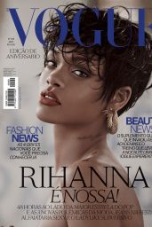 Rihanna - Vogue Magazine (Brazil) - May 2014 Issue