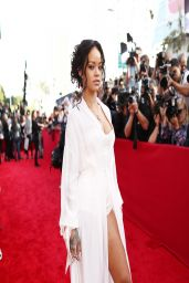 Rihanna Wearing Ulyana Sergeenko Couture - 2014 MTV Movie Awards