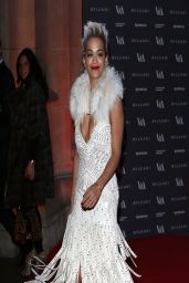 Rita Ora - The Glamour of Italian Fashion Exhibition in London - April 2014