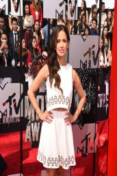 Rocsi Diaz on Red Carpet - 2014 MTV Movie Awards