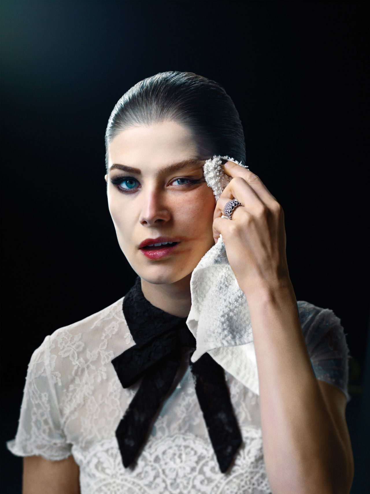 Rosamund Pike - W Magazine May 2014 Issue Photoshoot
